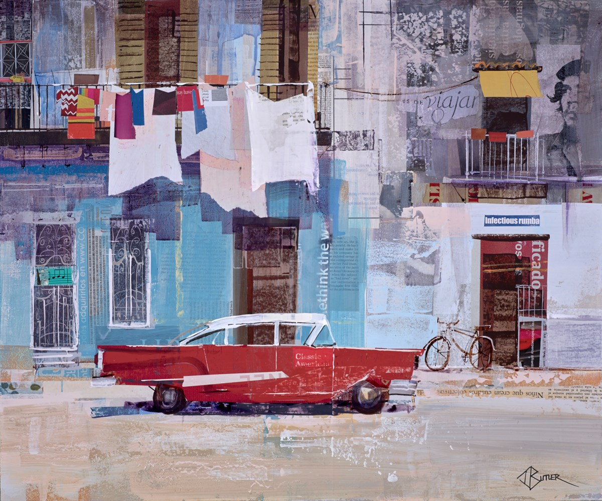 Old-Town Colours, Havana by tom butler -  sized 24x20 inches. Available from Whitewall Galleries